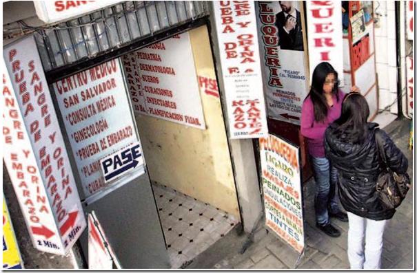 El aborto en La Paz y El Alto