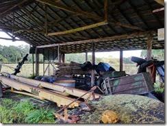 Old storage shed