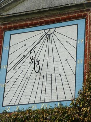 Packwood House, солнечные часы