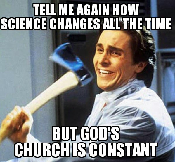god's church is constant