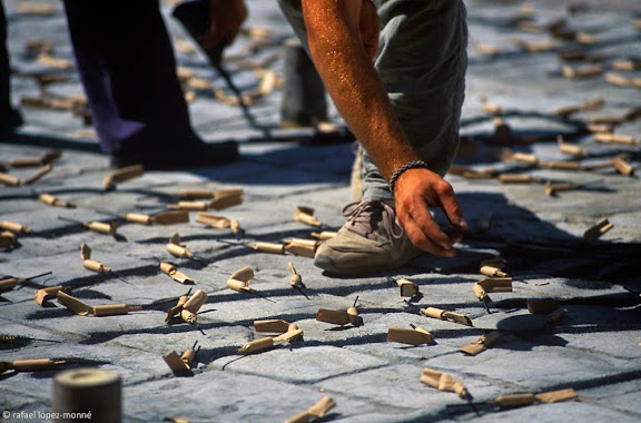 Tronada. Festes de Sant Pere, Reus, Baix Camp, Tarragona2001