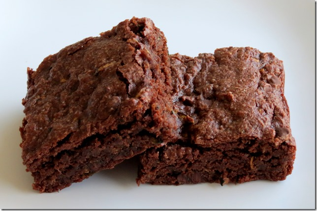 Baking And Boys!: Gluten Free Chocolate Zucchini Brownies