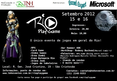 RJ - Rio Play Game