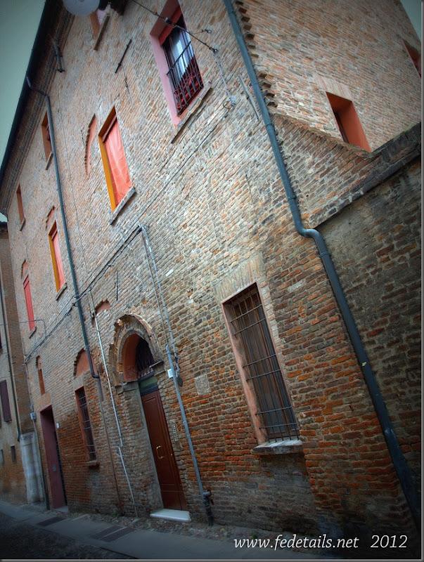 Via Capo delle Volte 50, Ferrara, Emilia Romagna, Italy - Property and Copyright of www.fedetails.net