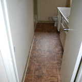 Rental House Bathroon Floor