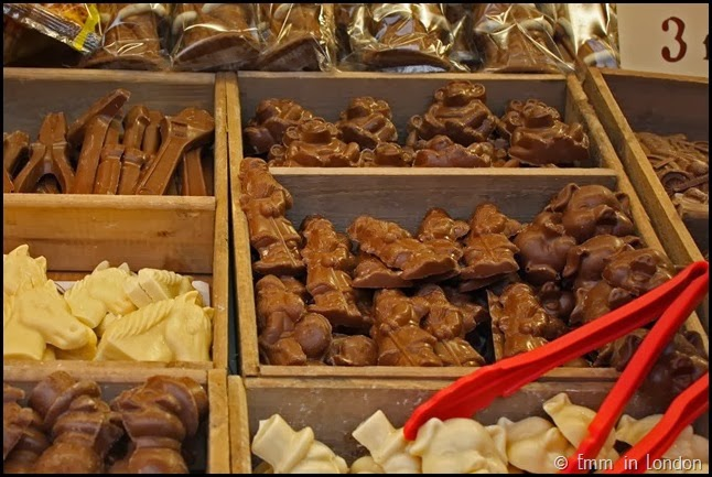 Real chocolate at Belfast Christmas Market
