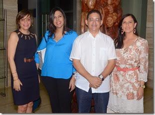 Elizabeth Hidalgo, Sharinne Gomez, Victor Duran, Maria Badia