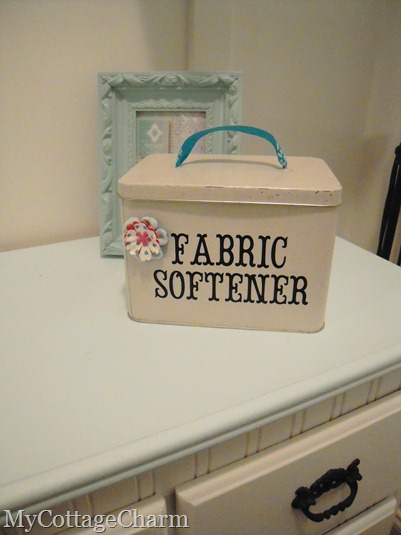 Fabric softener container