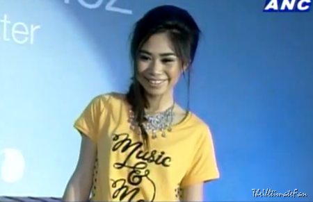 Jessica Sanchez in presscon for Bench