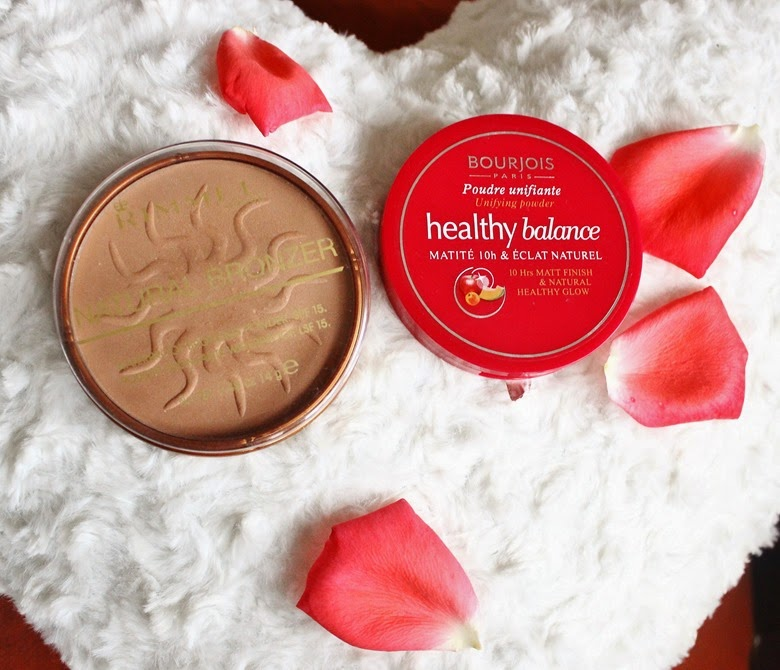 bourjois happy balance powder rimmel natural bronzer