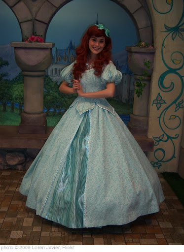'Ariel at Disney Princess Fantasy Faire' photo (c) 2009, Loren Javier - license: http://creativecommons.org/licenses/by-nd/2.0/