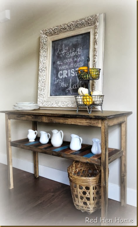 Red Hen Home Console Table 3