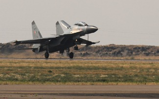 Sukhoi Su-30MKI Fighter Aircraft flown by the Indian Air Force at the Red Flag Exercises in the U.S & Indradhanush Exercise with U.K.