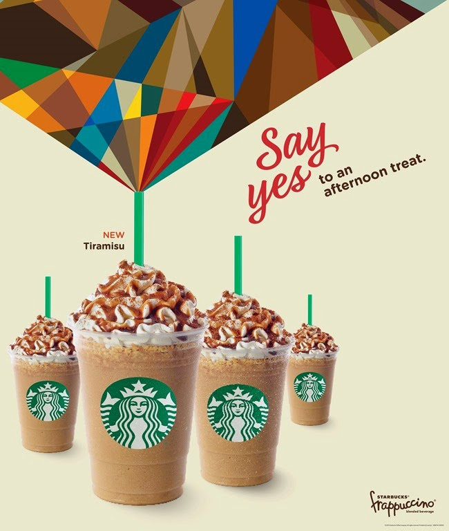 Starbucks Say Yes to an Afternoon Coffee Break
