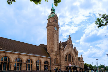 Krefeld Germany Central Train Station