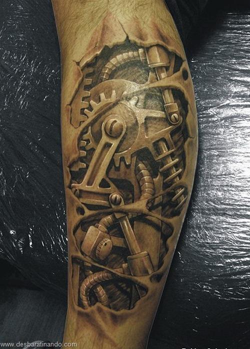 tatuagens ilusoes de otica optica ilusion tatoo desbaratinando  (20)