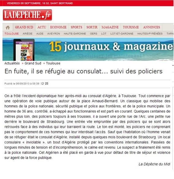 bandits argerians e polícia tolzana