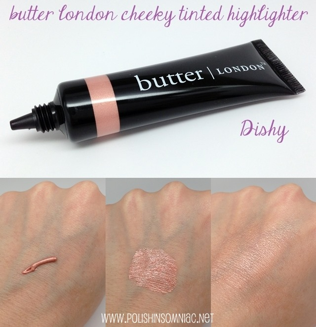 butter london cheeky tinted highlighter