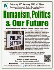 Humaism, Politics & Our Future 10th January 2015