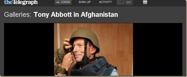 Tony Abbott - Tony Abbott in Afghanistan - Photo Galleries and News Photos - News Pictures and Photos - thetelegraph.com.au