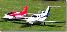 Model Jet plane show 005