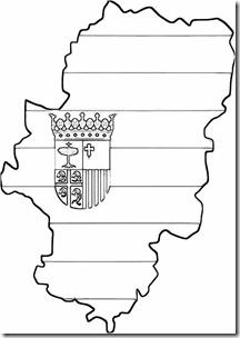 mapa aragon blogccolorear  (1)