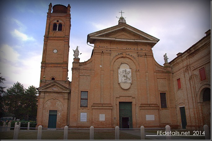 Basilica di San Giorgio, Ferrara, Italy