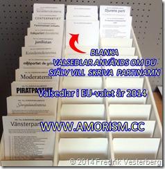 DSC01833.JPG Valsedlar 2014 EU val med amorism