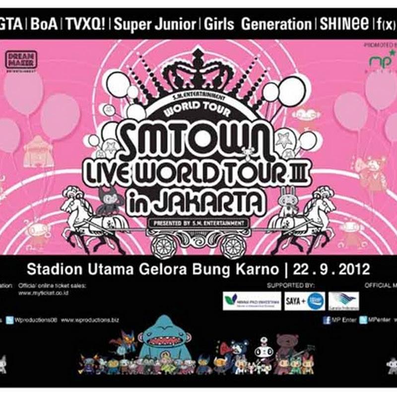 Konser SM Town Live World Tour III Jakarta 2012