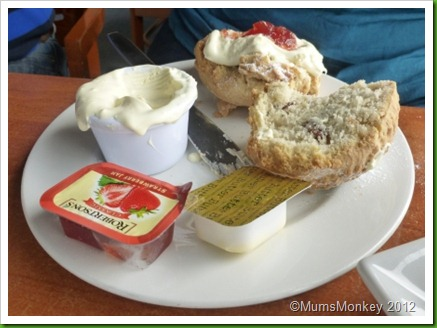 Dorset Cream tea The Portland Heights