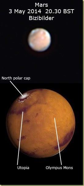 3 May 2014 Mars
