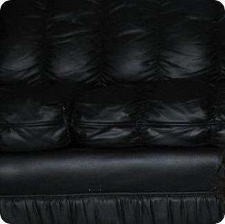 sillón negro