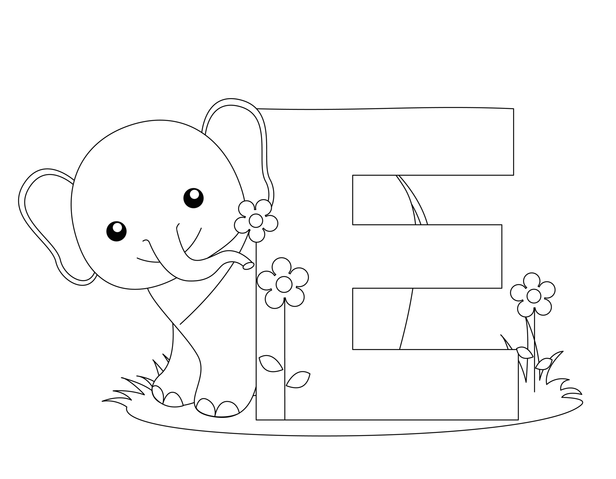 geography blog letter e coloring pages