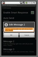 Screenshot of Smart Response Pro