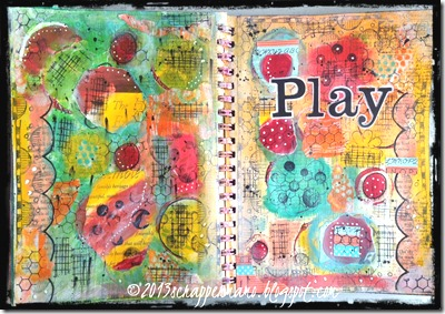 Play Colorful Journal Page