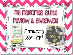 My memories suite giveaway