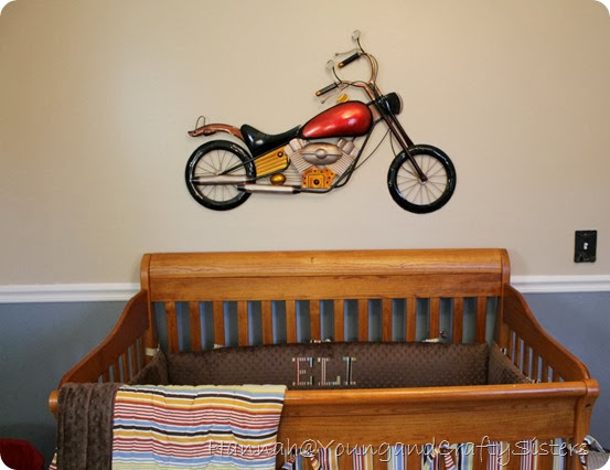 Motorcycle nursery 3