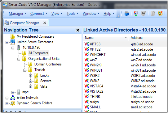 Linked-Active-Directories
