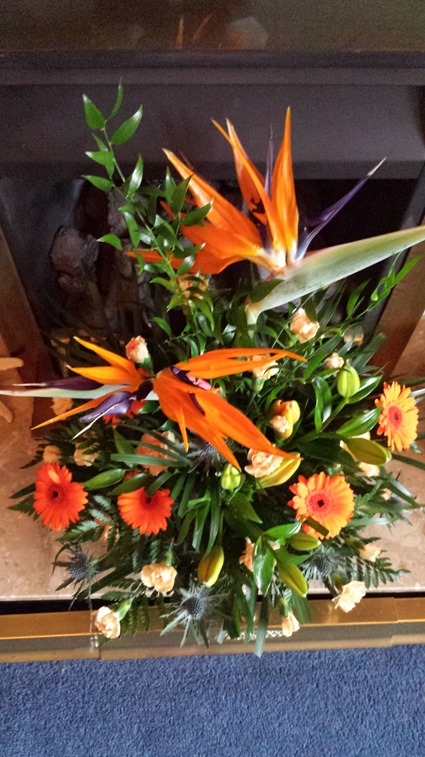 'Bird of Paradise' arrangment