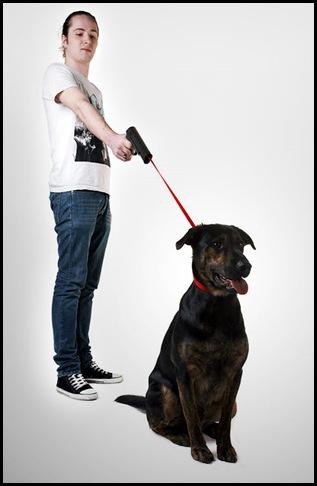 Laisse pour chien en forme de pistolet_03