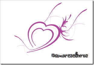 corações alados