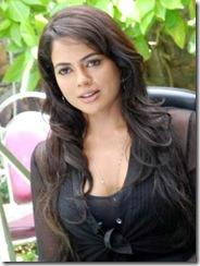 sameera_reddy in black dress