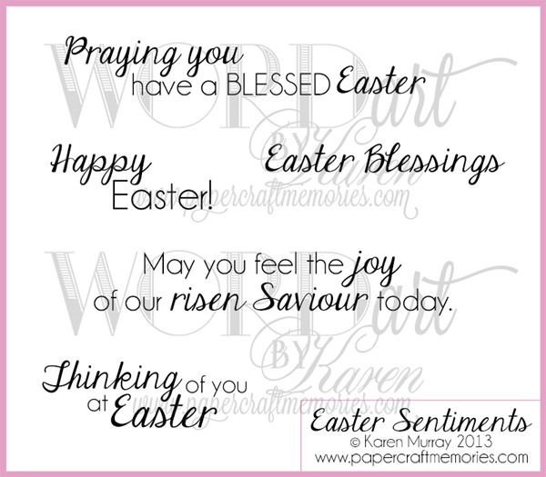 Easter Sentiments for blog
