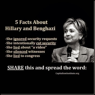Hillary and Bengahzi Facts