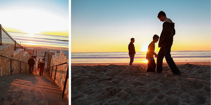 hitting the beach