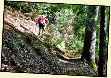 07 - Rock Garden Trail - a bit of scrambling