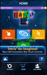 العديد من طرق التحكم بلعبة تتريس الشهيرة للأندرويد TETRIS®