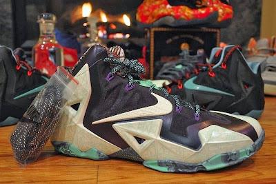nike lebron 11 gr allstar 2 01 Mens Nike LeBron XI (11) All Star Shoes for New Orleans