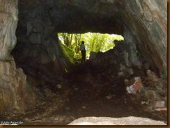 Cueva de Lezestali - interior - ruta Lusarreta