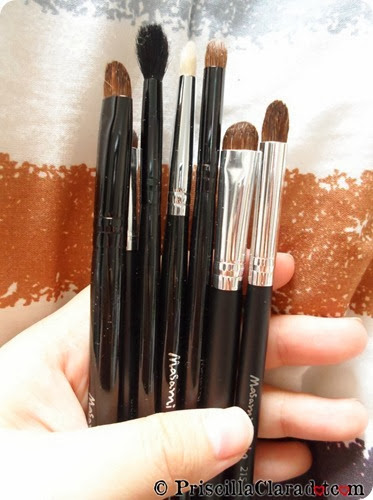 Priscilla haul Masami Shouko brushes